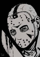Jason Vorhees from Friday the 13th by Bat-Dan