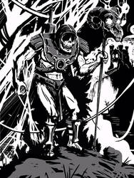 Skeletor Creeping by Bat-Dan