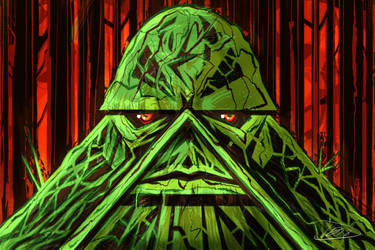 Swamp Thing Face