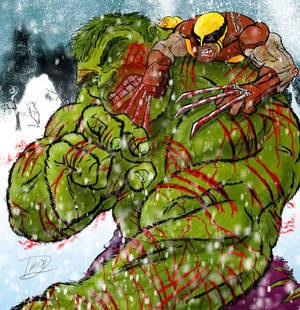 Hulk vs. Wolverine  Round 3