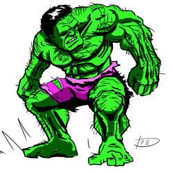 Hulk by Bat-Dan