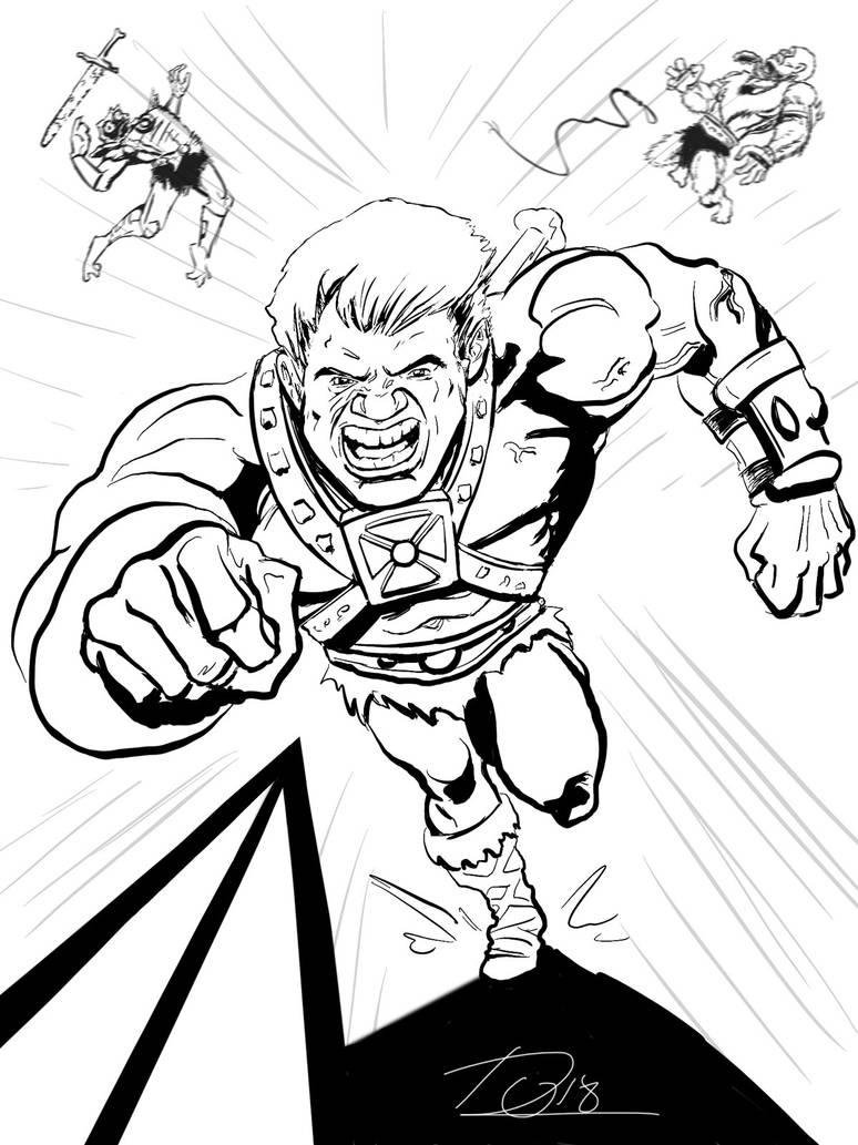 He-Man Comin' at Ya by Bat-Dan
