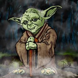 Yoda by Bat-Dan