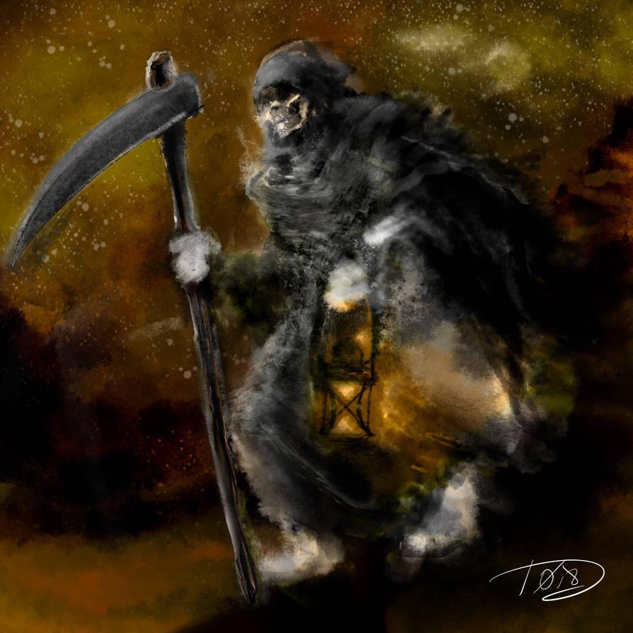 Reaper on the Run by Bat-Dan