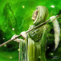 Reaper reflecting