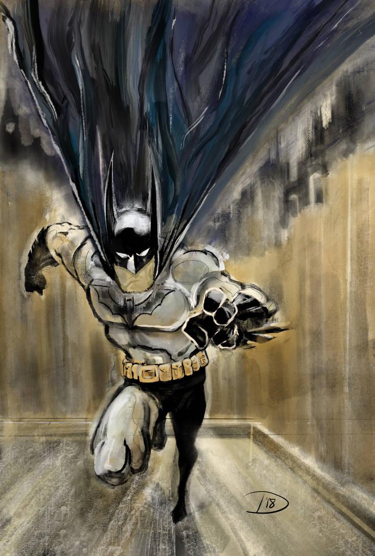 The Batman Runneth by Bat-Dan