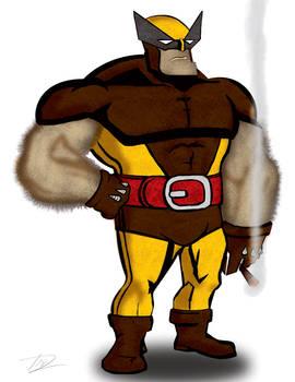 Wolverine on a Smoke Break
