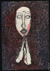 PRAY by Bogdana-Menger