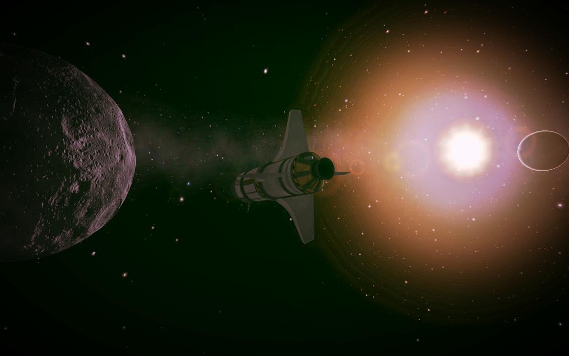 Kerbal Space Program - Moon bound by Ickecakez on DeviantArt