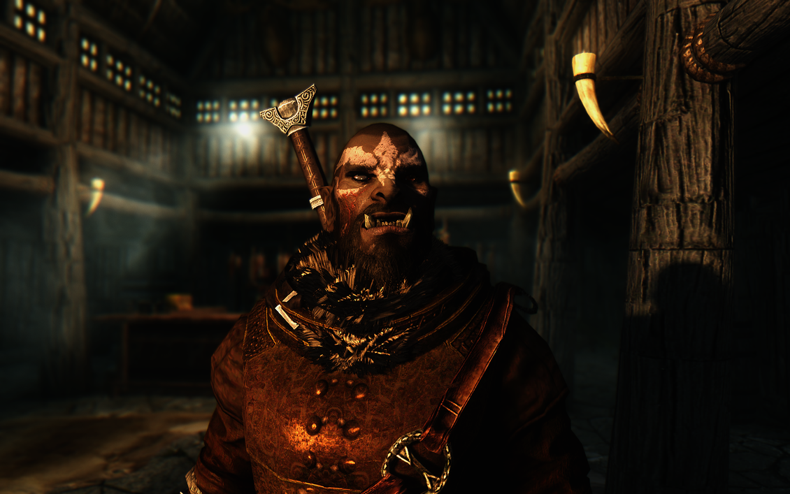 skyrim orc wallpaper - photo #28
