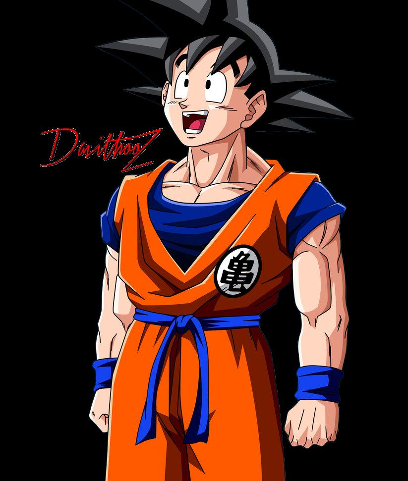 Goku Normal by DavithooZ on DeviantArt