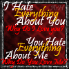 I Hate Everything About U -3DG by fallenangelash