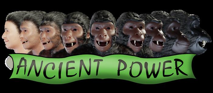 Gorilla Head Ancient Power small