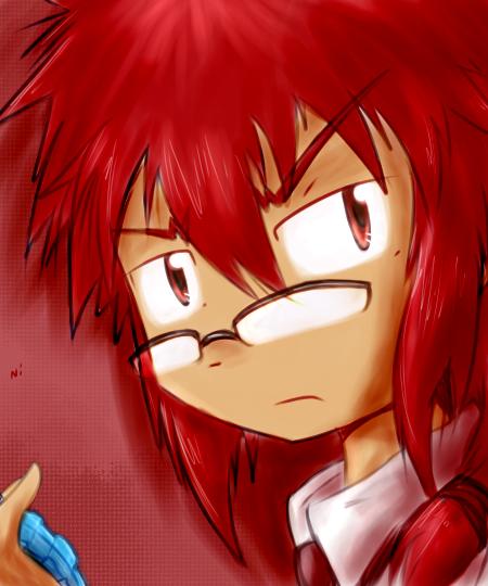 [デジタルゲート - Digital Gate arts] - Página 11 Reddish_hair_by_chibiness_artist-d4w0glx