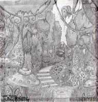 Fantasy Forest by Natasha-Donovan1989