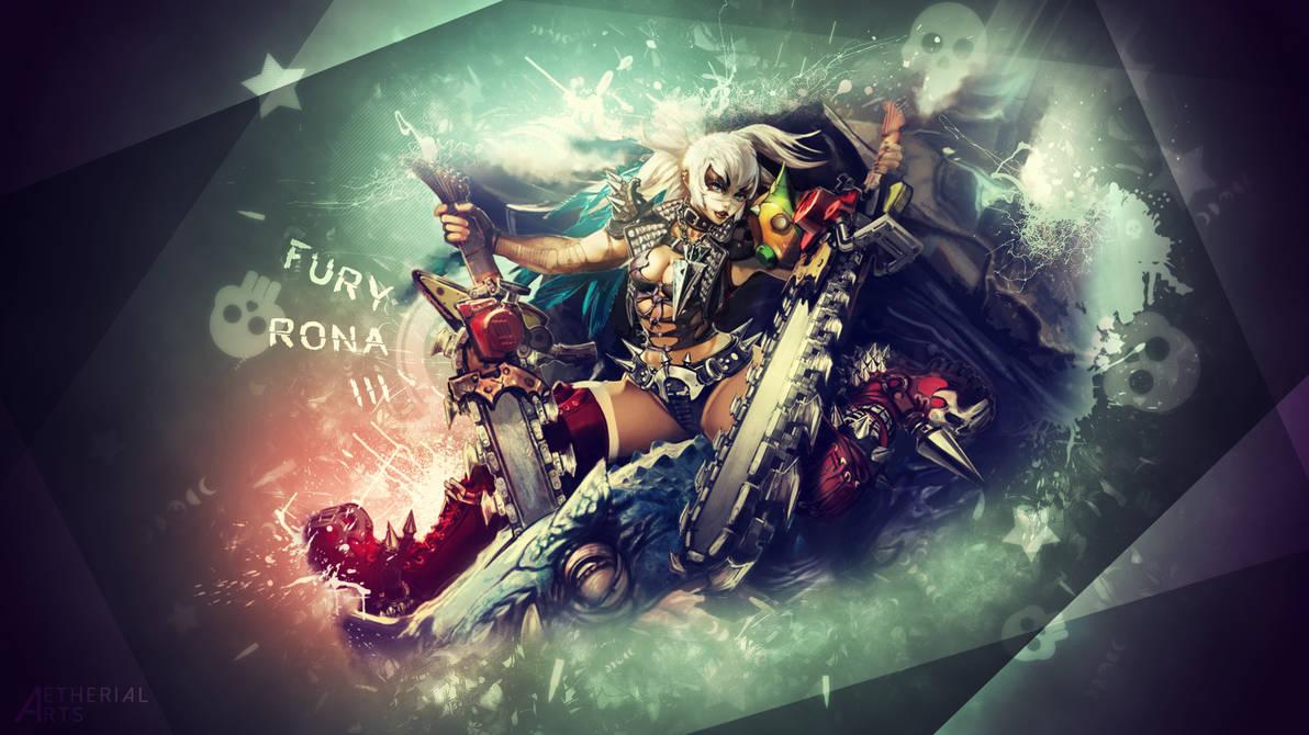 Fury Rona III Wallpaper by AetherialArts ...