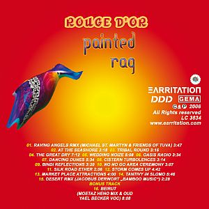 CD Label of Painted Rag by Earritation