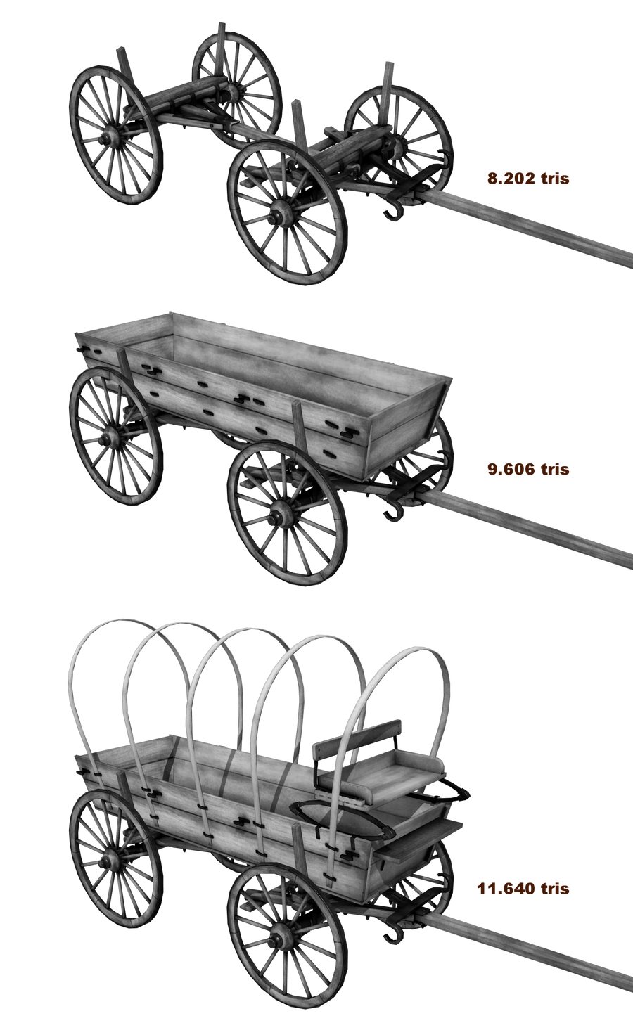 Covered wagon wip 1 by mardraq on deviantart for Covered wagon plans