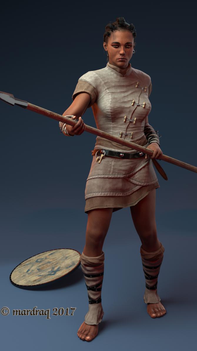 Warrior by mardraq