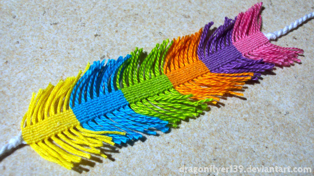 Fringed Bracelet (Poptart-Princess) I by DragonFlyer139