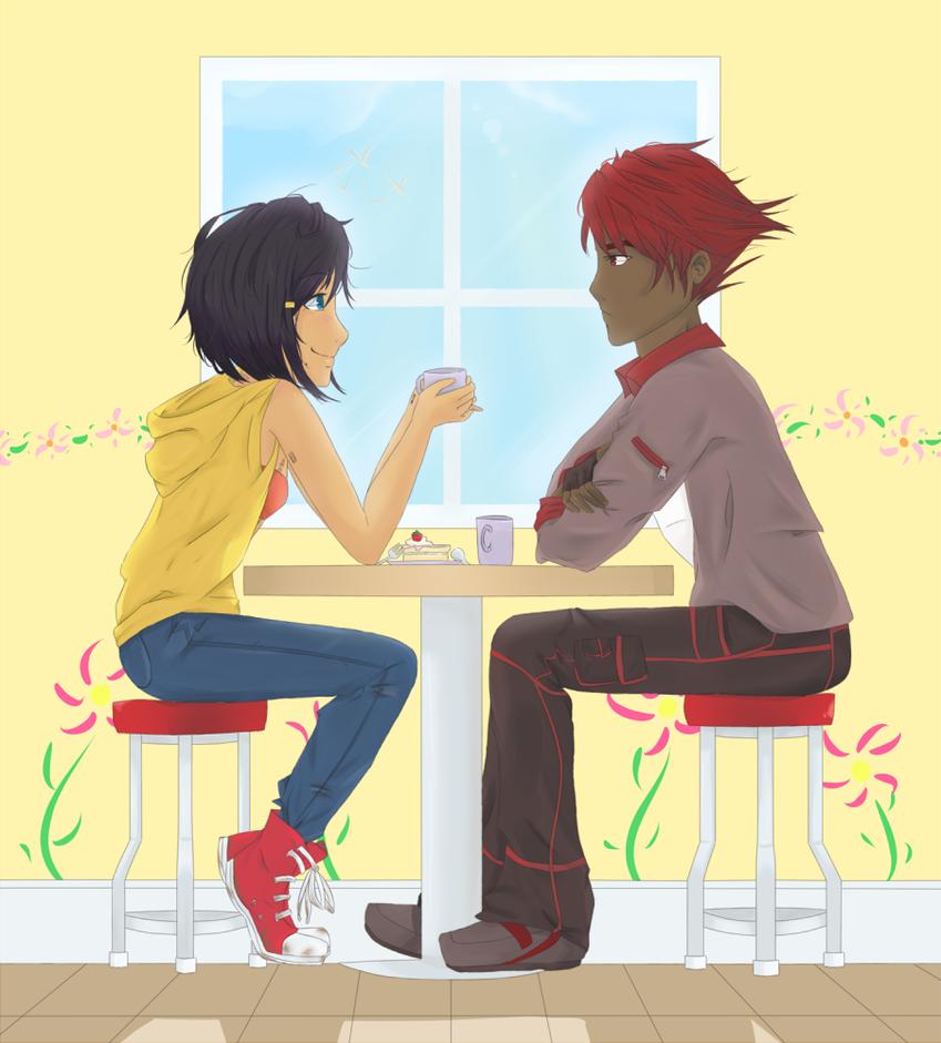 Tea Break by MissEde