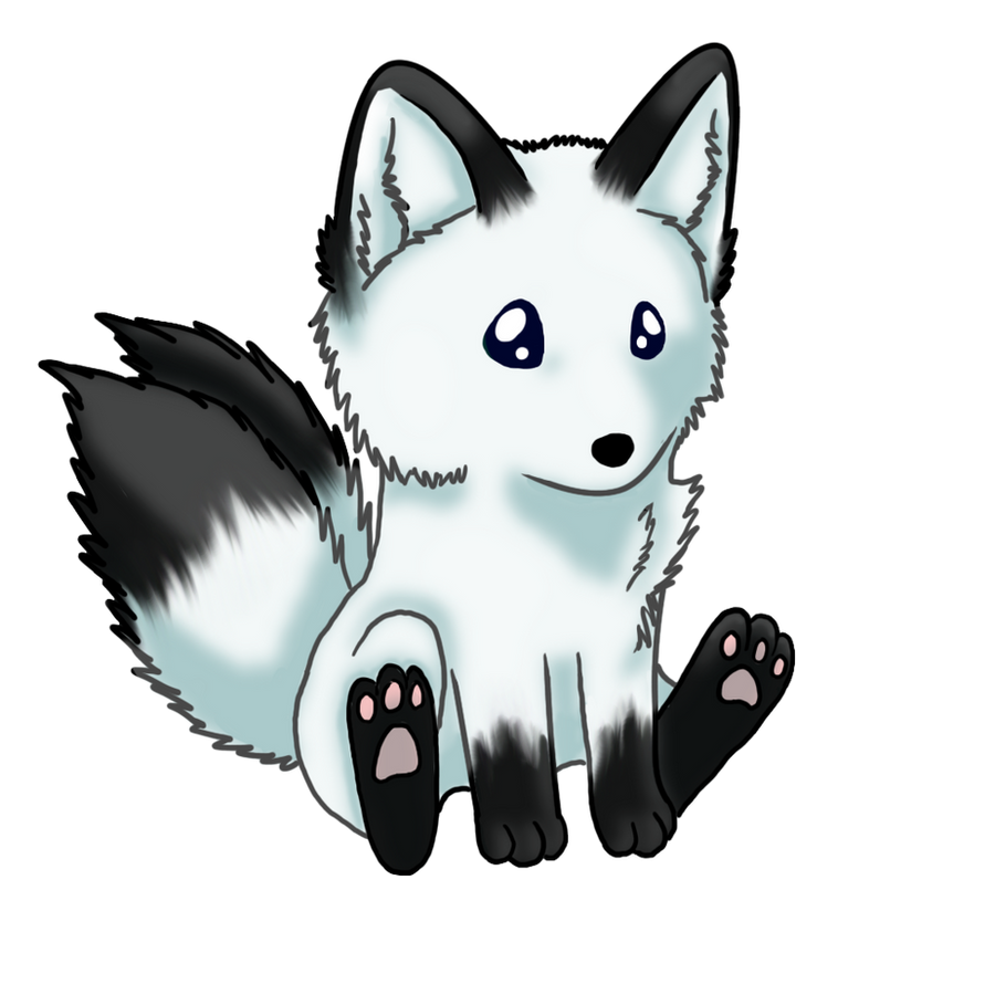 Yuki the kitsune by windwolf55x5