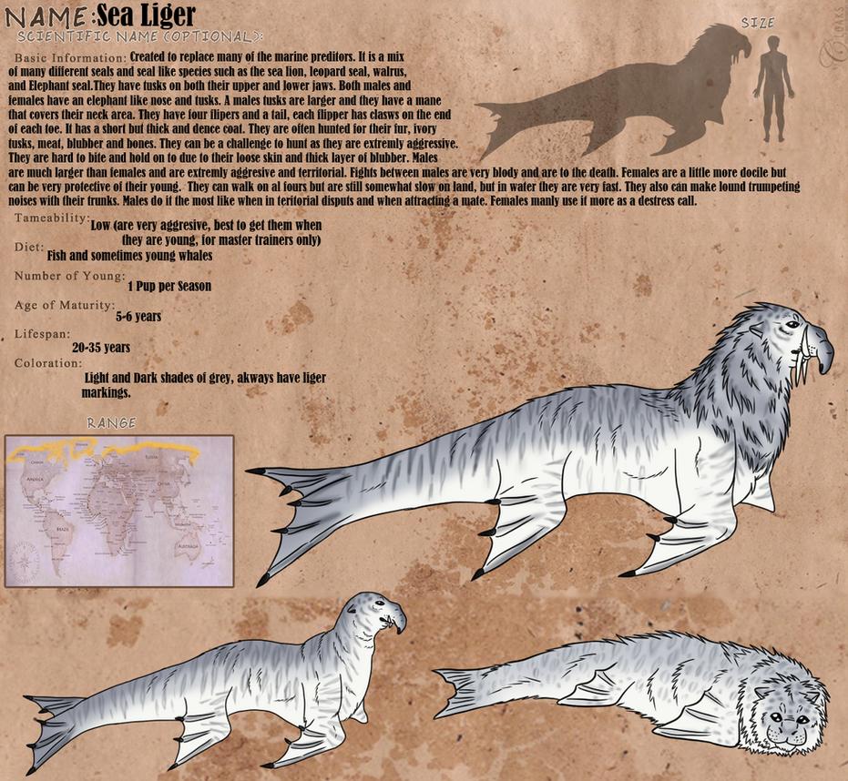 Sea Liger by windwolf55x5