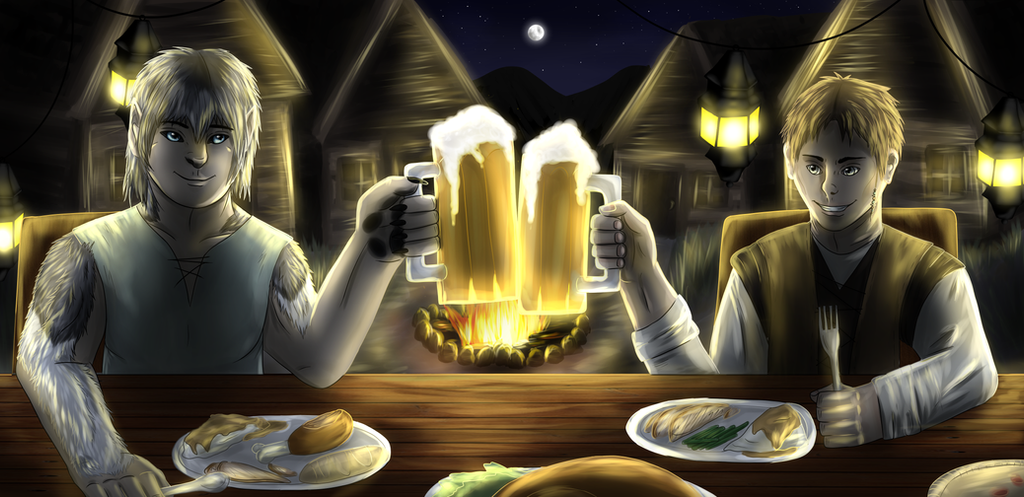 Harvest Festival Feast by windwolf55x5