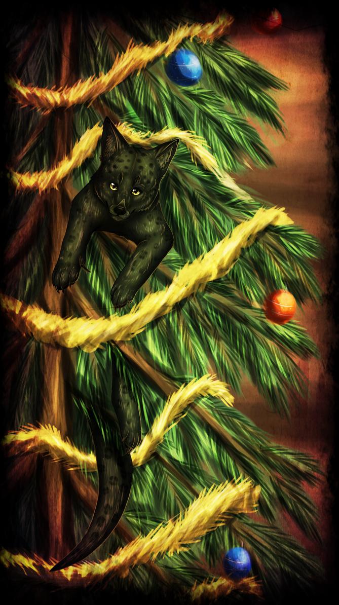 I climb tree by windwolf55x5