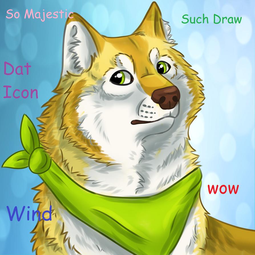 Wind Doge by windwolf55x5