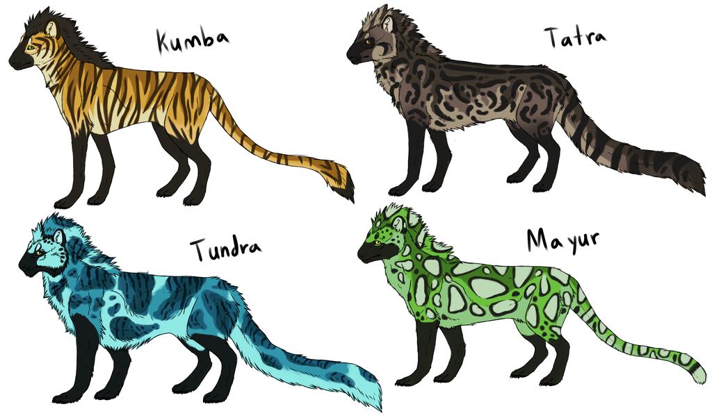 Saliko mascot designs by windwolf55x5
