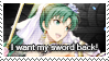 Fire Emblem Heroes: Lyn (Bridal Blessings) Stamp by Capricious-Stamps