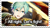Fire Emblem Heroes: Ephraim Stamp by Capricious-Stamps