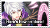 Fire Emblem Heroes: Robin (Male) Stamp by Capricious-Stamps