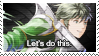 Fire Emblem Heroes: Stahl Stamp by Capricious-Stamps