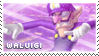 Mario Party DS: Waluigi Stamp by Capricious-Stamps