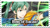 Fire Emblem Heroes: Lyn (Brave) Stamp by Capricious-Stamps