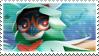 Pokemon TCG: Decidueye Stamp by Capricious-Stamps