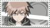 Danganronpa: Makoto Naegi Stamp by Capricious-Stamps