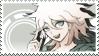 Danganronpa 2: Nagito Komaeda Stamp by Capricious-Stamps