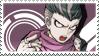 Danganronpa 2: Gundham Tanaka Stamp by Capricious-Stamps
