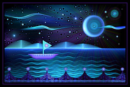 Sailing With The Moon