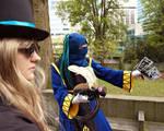 Charden and Shiki Do Battle