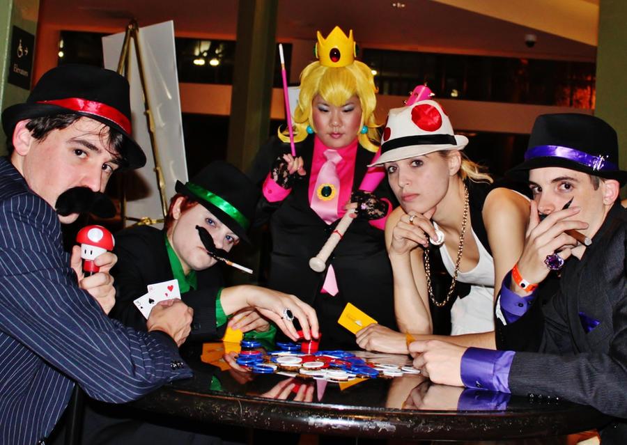 Super Mafia Bros - Poker