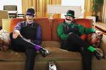 Super Mafia Bros - Luigi Bros