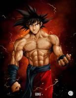 Goku by Crike99