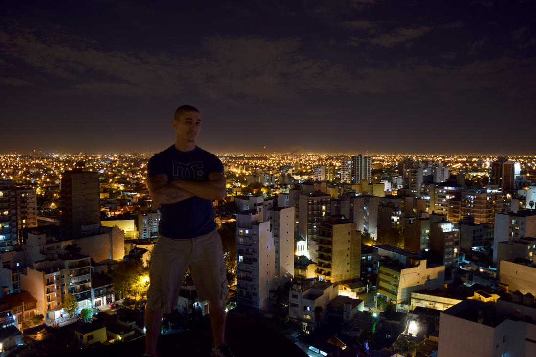 ON THE TOP by Crike99