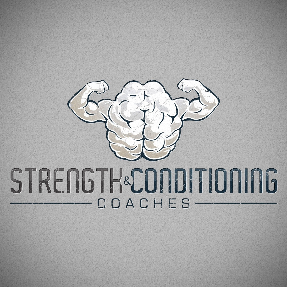 strength and conditioning coaches logo design by crike99