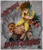Seiya Vs Cassius - 2018 by Crike99