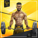 Taher Wawan - COMMISSION (MUSCLE VERSION)